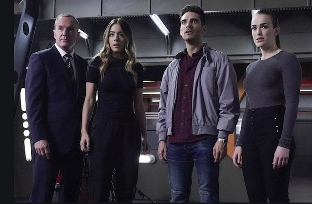 agents of shield as i have always been - couslon, daisy, deke and enoch