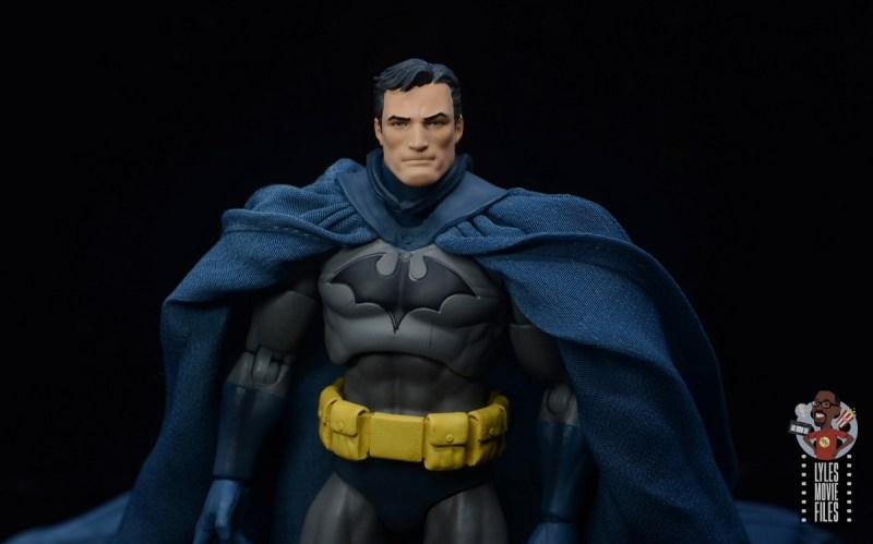 mafex hush batman figure review - bruce wayne head sculpt