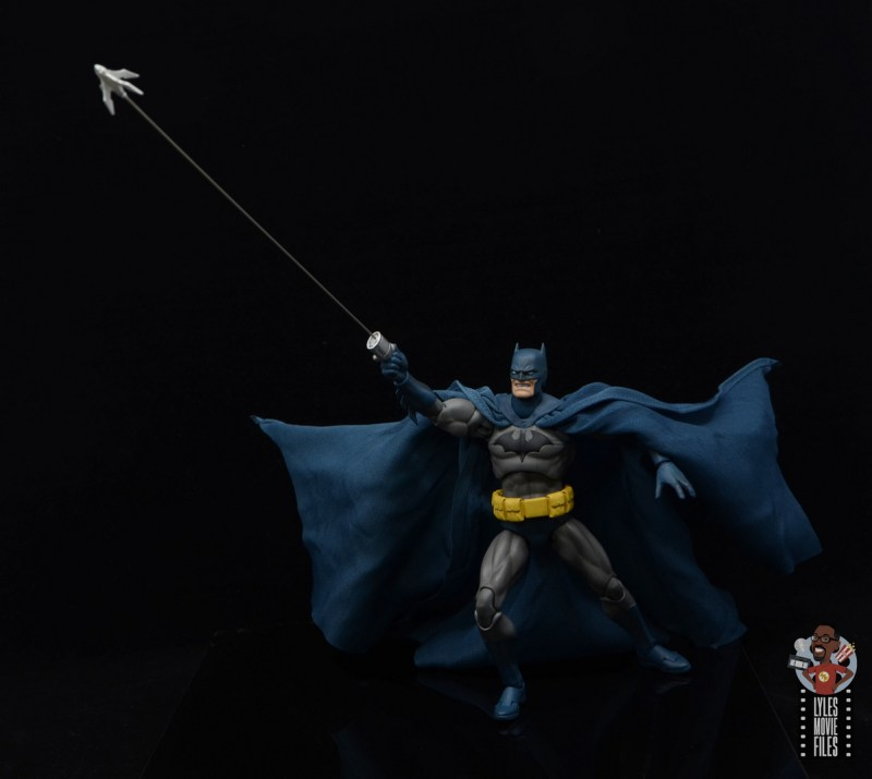 mafex hush batman figure review -firing wirepool