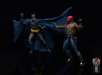 mafex hush batman figure review - vs red hood