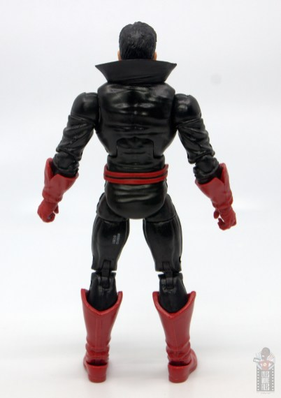 marvel legends black tom cassidy figure review - rear