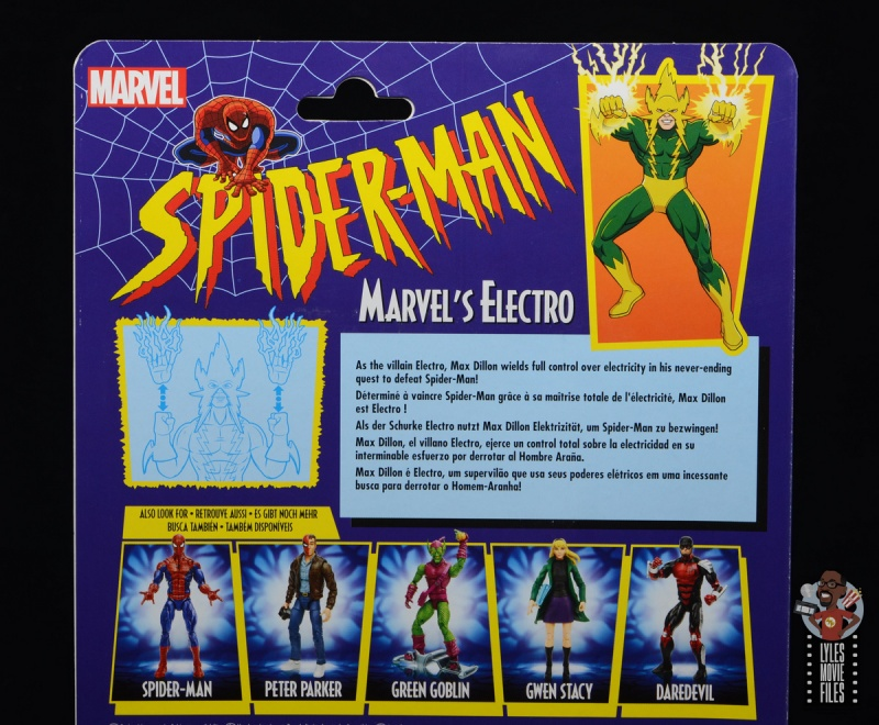 marvel legends electro figure review -bio
