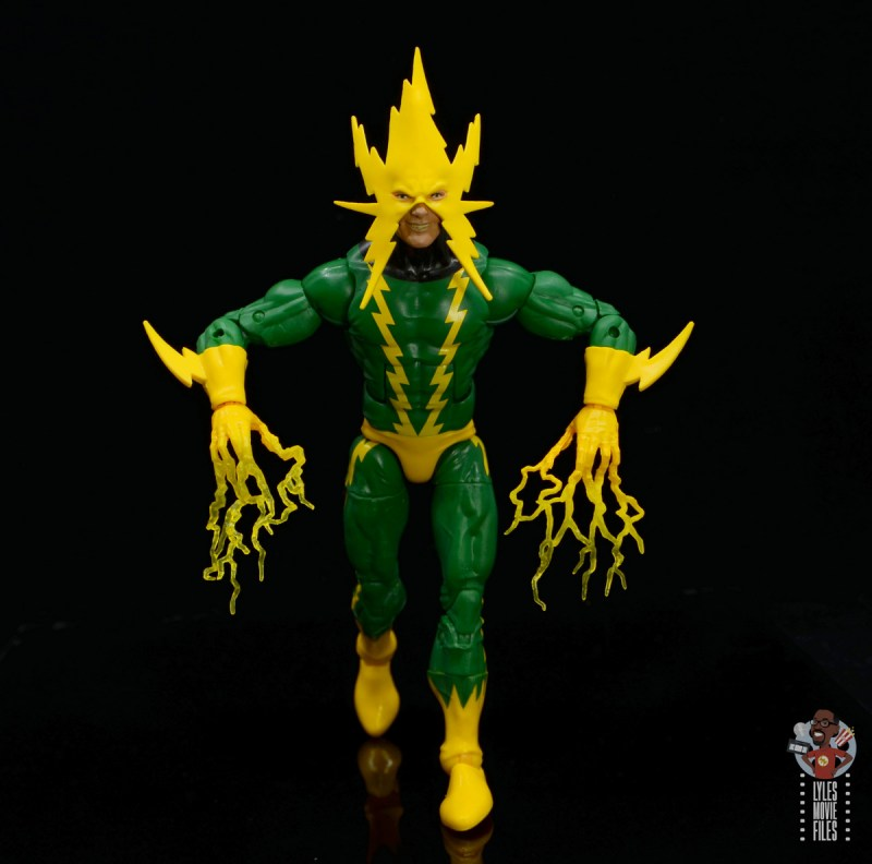 marvel legends electro figure review -charging up