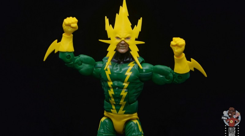 marvel legends electro figure review -main pic