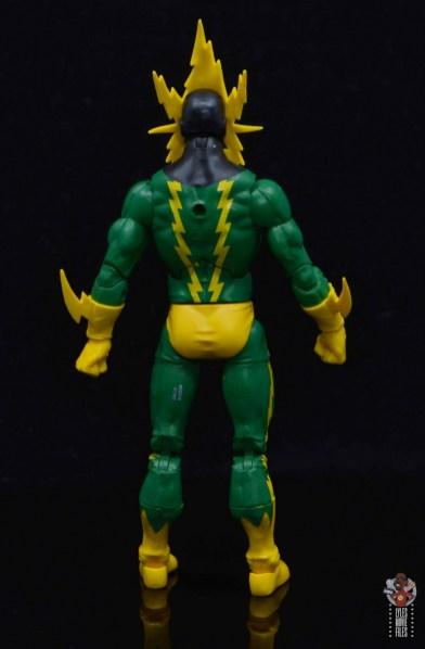 marvel legends electro figure review -rear