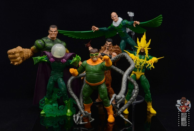 marvel legends electro figure review -with sinister six