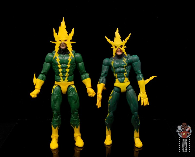 marvel legends electro figure review -with toy biz electro