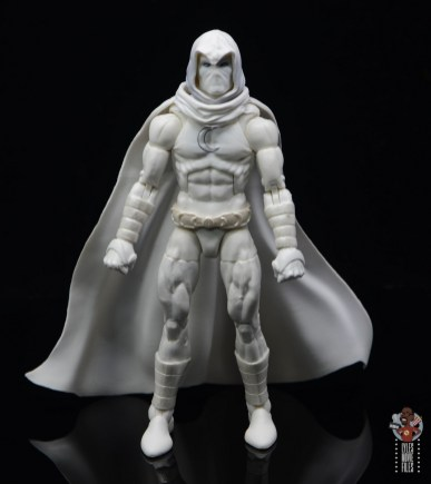 marvel legends moon knight figure review - front