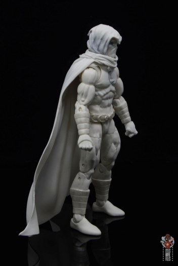 marvel legends moon knight figure review - right side