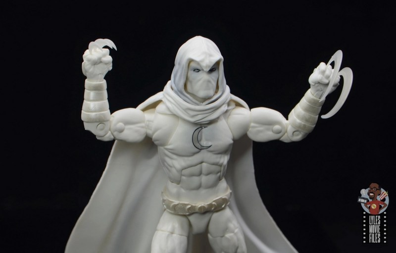 marvel legends moon knight figure review - with shiruken