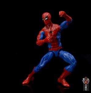 marvel legends retro spider-man figure review -pivoting
