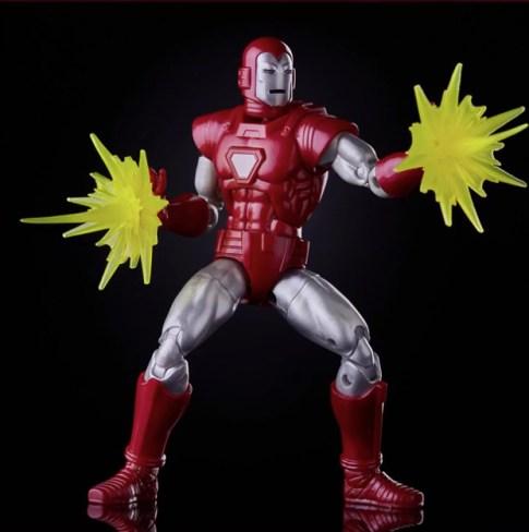 marvel legends silver centurion iron man - dual repulsor blasts