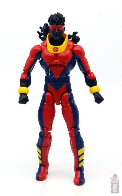 marvel legends sunspot figure review - front
