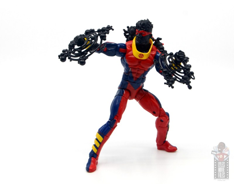 marvel legends sunspot figure review - pivoting