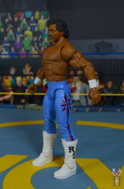 wwe elite hall of champions ron simmons figure review - left side