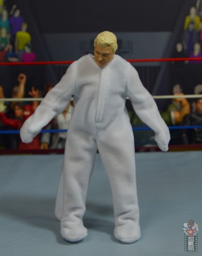 wwe legends 7 bobby the brain heenan figure review - weasel suit front
