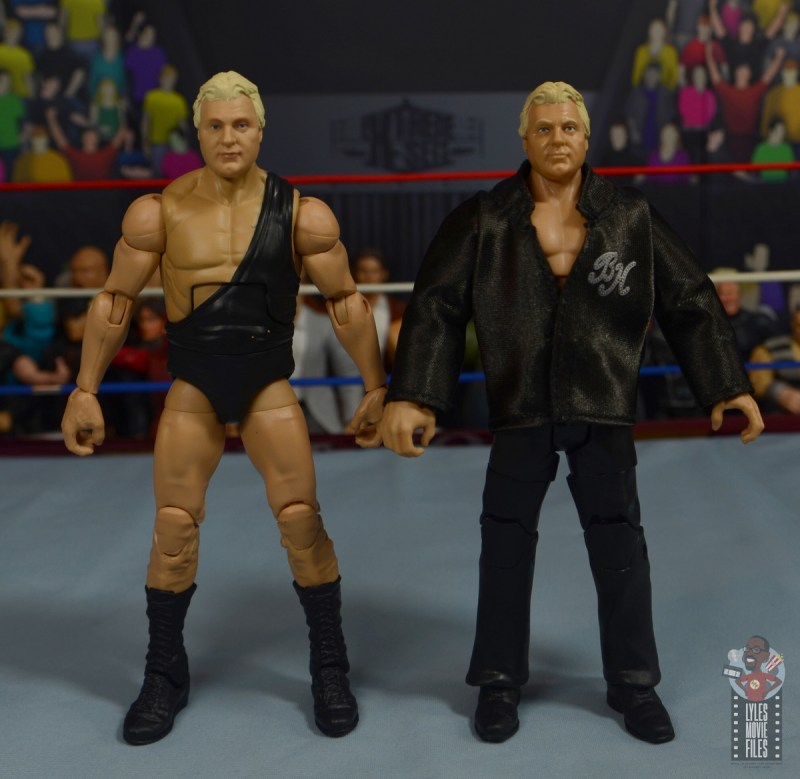 wwe legends 7 bobby the brain heenan figure review - with jacket brain