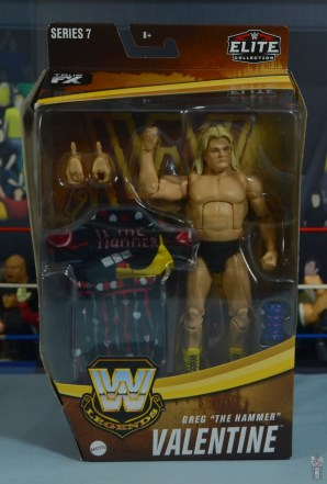 wwe legends 7 greg the hammer valentine figure review - package front