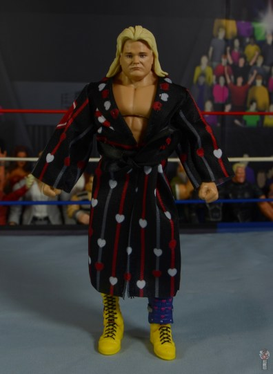 wwe legends 7 greg the hammer valentine figure review - ring robe front