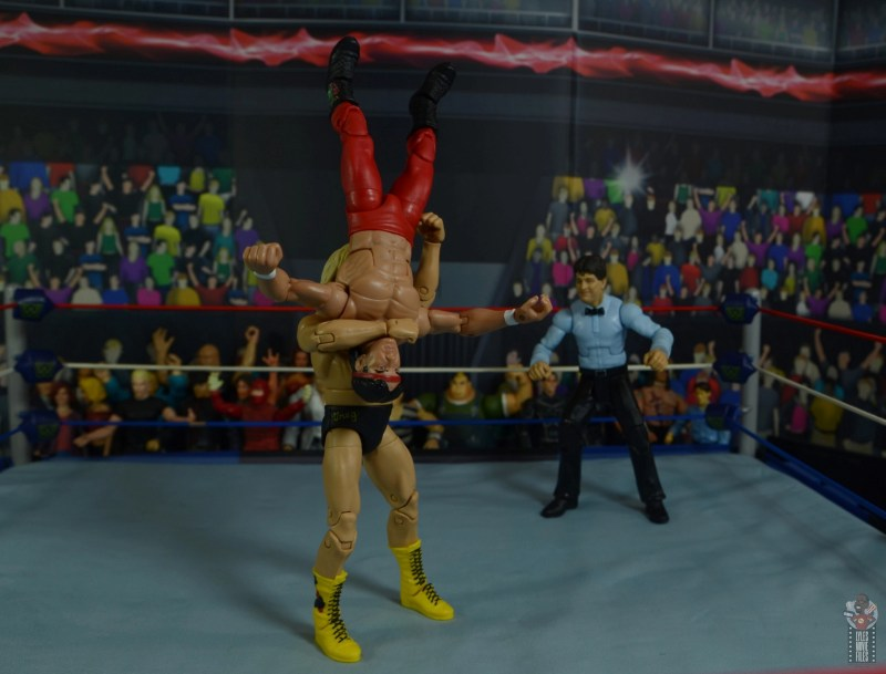 wwe legends 7 greg the hammer valentine figure review - suplex to ricky steamboat