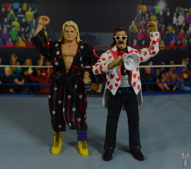 wwe legends 7 greg the hammer valentine figure review - with jimmy hart