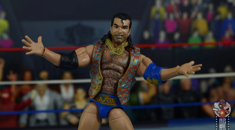 wwe legends 7 razor ramon figure review - main pic