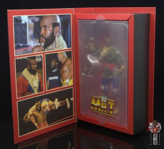 wwe sdcc elite mr. t figure review - inner package interior