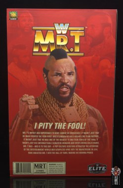 wwe sdcc elite mr. t figure review - inner package rear
