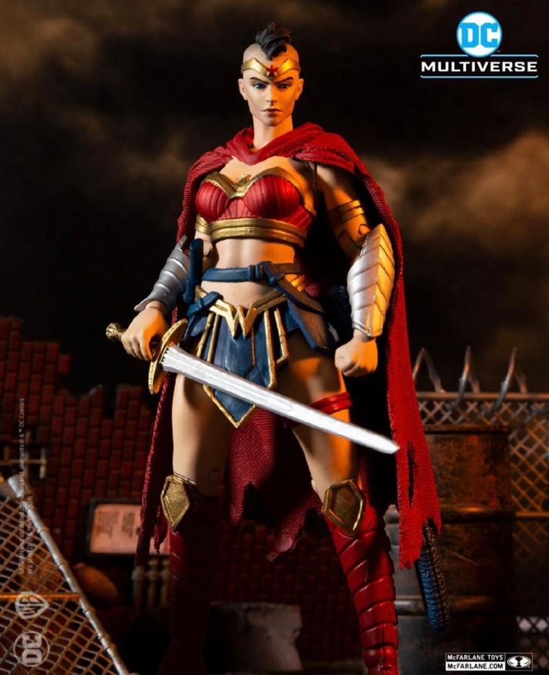 McFarlane Toys Batman last knight on Earth Wonder woman figure