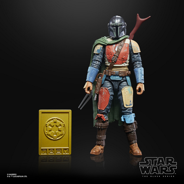 STAR WARS THE BLACK SERIES CREDIT COLLECTION 6-INCH THE MANDALORIAN Figure -oop