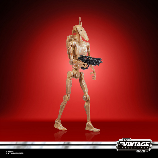 STAR WARS THE VINTAGE COLLECTION 3.75-INCH BATTLE DROID Figure - oop (1)