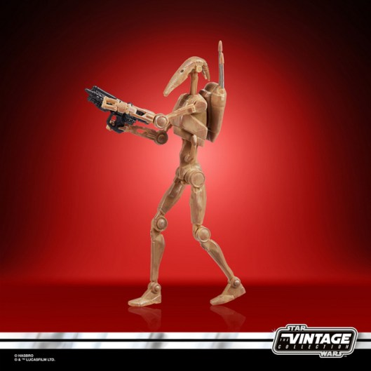 STAR WARS THE VINTAGE COLLECTION 3.75-INCH BATTLE DROID Figure - oop (4)