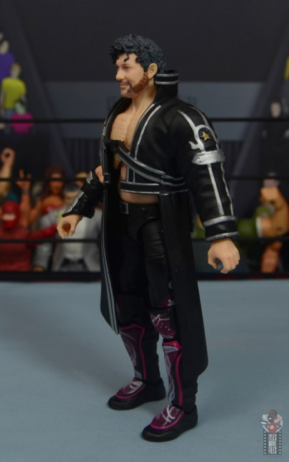 aew unrivaled kenny omega figure review - entrance robe left side