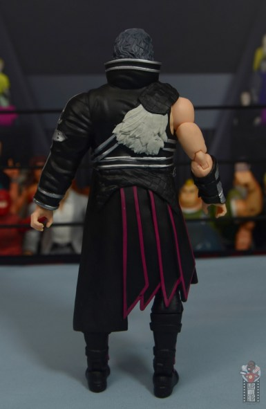aew unrivaled kenny omega figure review - entrance robe rear