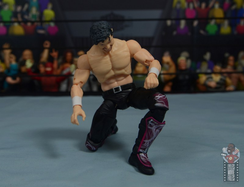 aew unrivaled kenny omega figure review - rise of the terminator