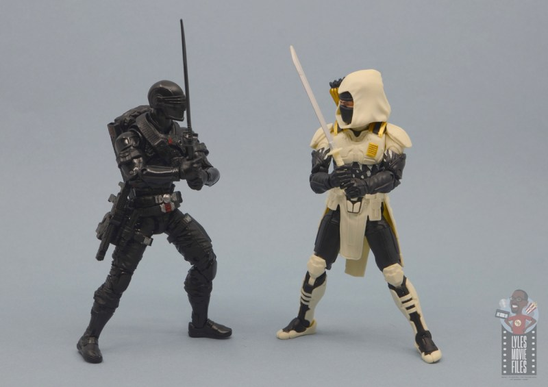 g.i. joe classified series arctic storm shadow figure review - face off with snake eyes