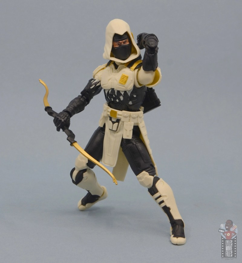 g.i. joe classified series arctic storm shadow figure review - with bow