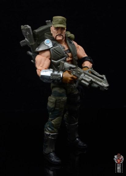 g.i. joe classified series gung-ho figure review - holding grenade launcher
