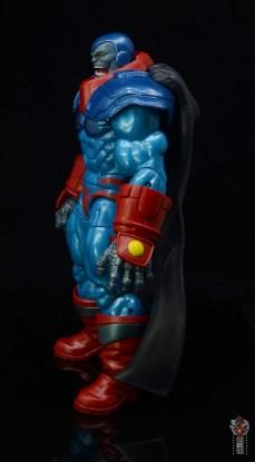 marvel legends apocaylpse - apocalypse figure review - side detail