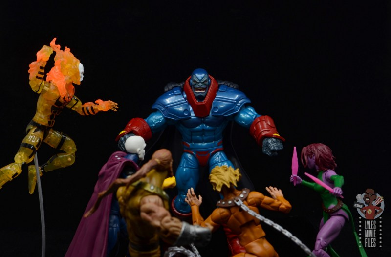 marvel legends apocaylpse - apocalypse figure review - vs astonshing x-men