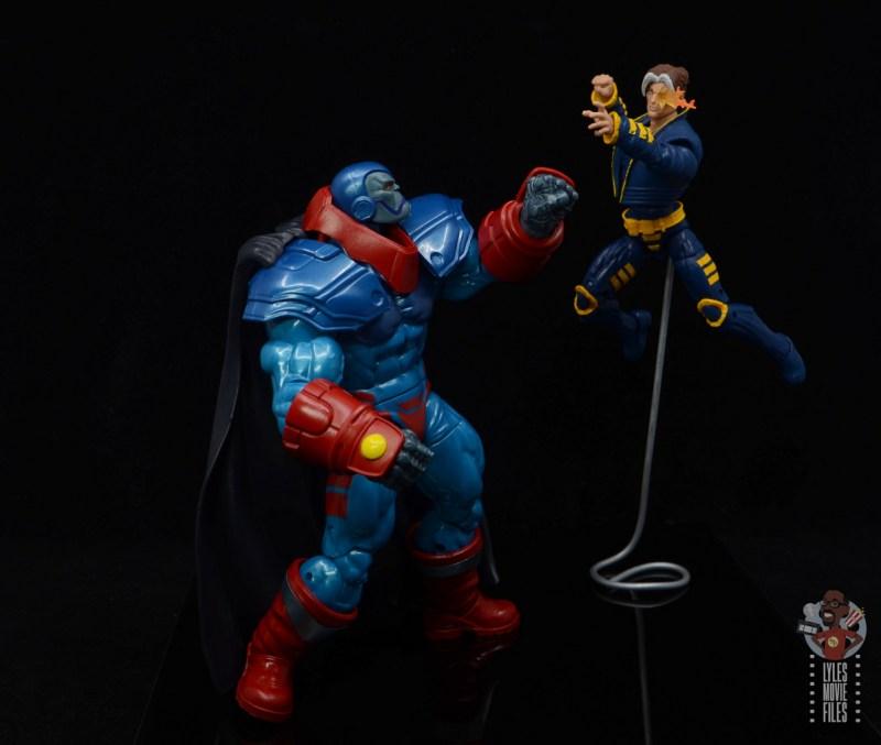 marvel legends apocaylpse - apocalypse figure review - vs x-man