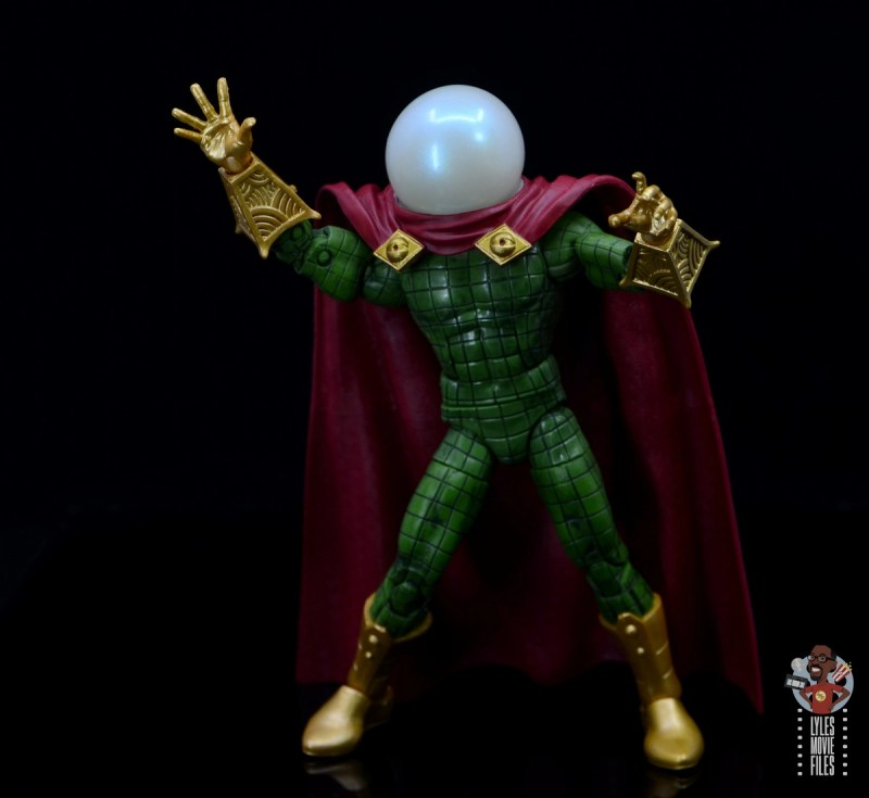 marvel legends retro mysterio figure review -ready for action