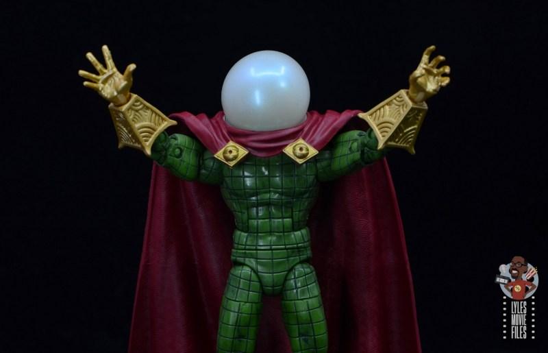 marvel legends retro mysterio figure review - wide shot