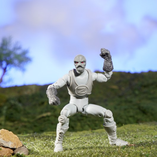 power rangers lighting collection z putty figure - battle stance