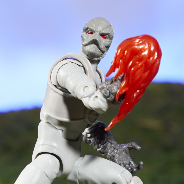 power rangers lighting collection z putty figure - close up