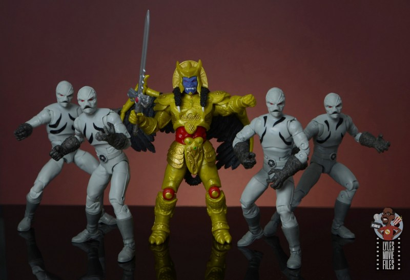 power rangers lightning collection putty patrols figure review - flanking goldar