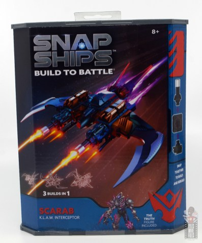 snap ships klaw interceptor front package