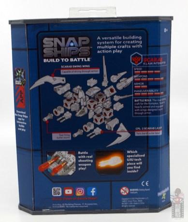 snap ships klaw interceptor review - rear packaging