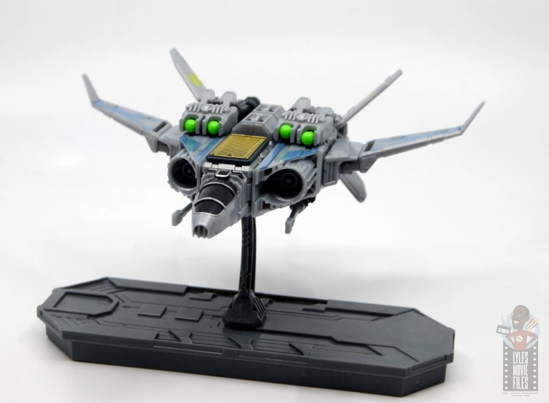snap ships sabre x-23 interceptor review - with projectile cannons