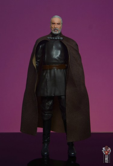 star wars the black series count dooku figure review - front